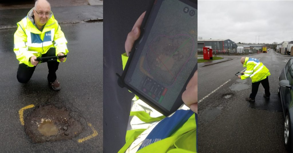 MobileWorxs supports National Pothole Day with Mobile 3D imaging solution