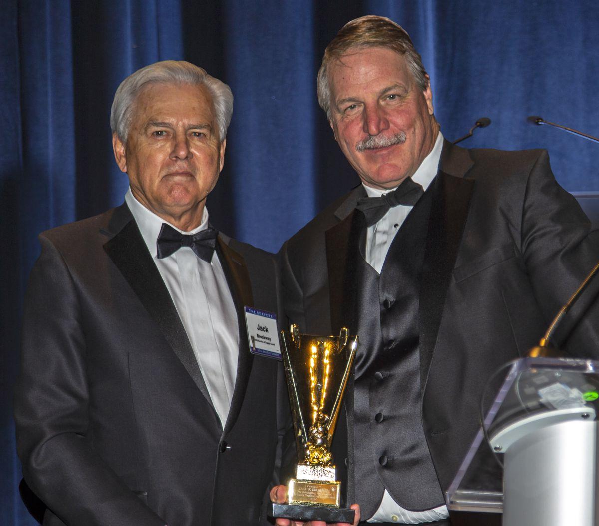 Herrenknecht prestigious Golden Beaver awarded to Jack Brockway