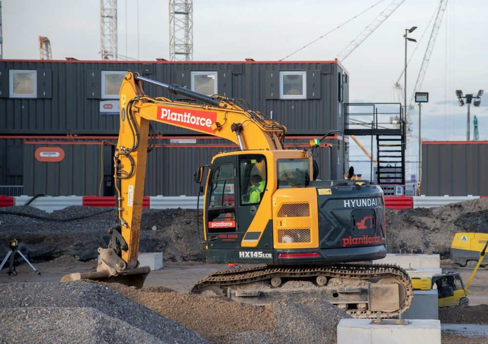 Plantforce Rentals and Hyundai go nuclear at Hinkley Point C