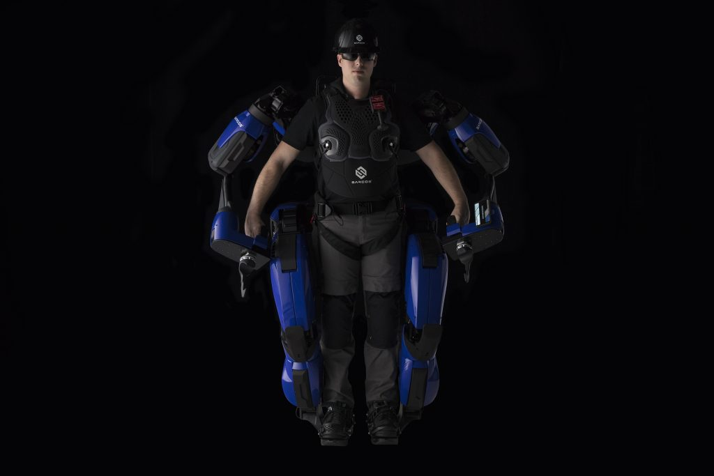 Sarcos Robotics partners with Delta to demo Guardian XO Exoskeleton Robot at CES 2020