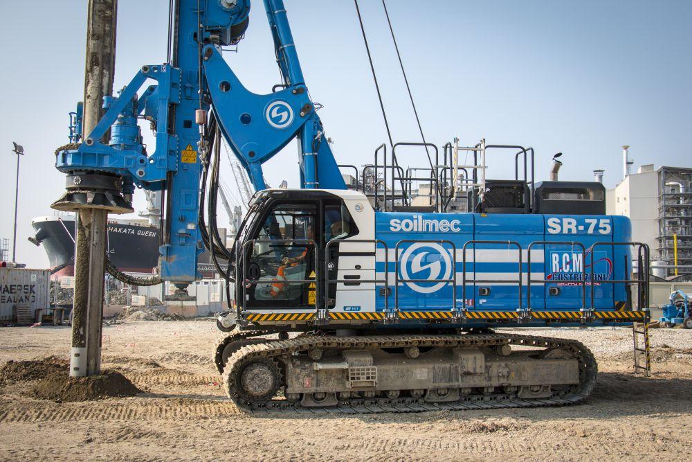 Soilmec releases Blue Tech line SR-75 piling rig