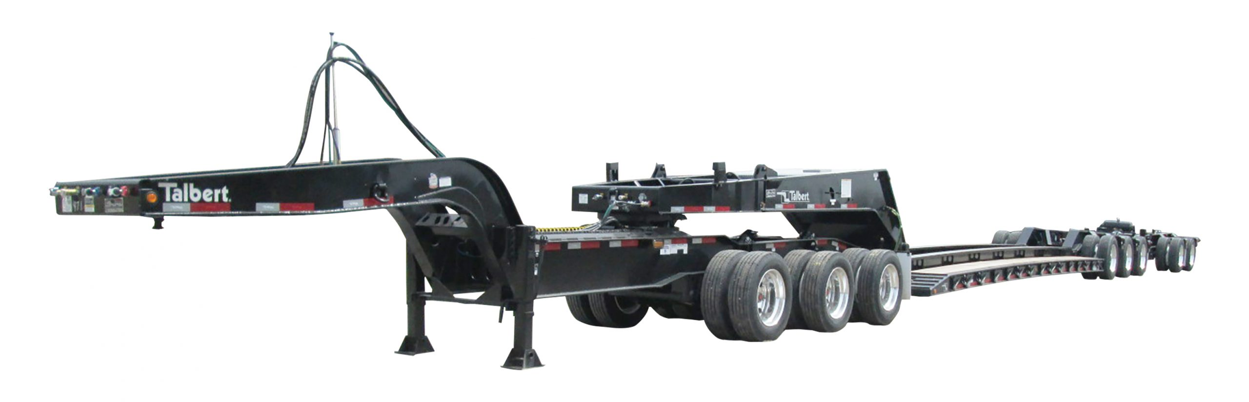 Talbert Manufacturing will feature a 3+3+2 configuration, raised-center version of the 65SA Modular Trailer, along with other custom-engineered innovations, at booth F5504 during CONEXPO-CON/AGG, March 10-14, 2020,in Las Vegas.