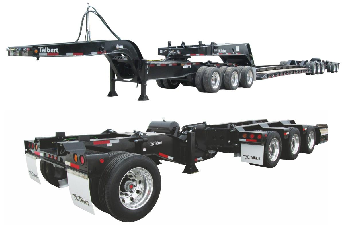 Talbert modular 65 ton Trailer designed for optimum flexibility