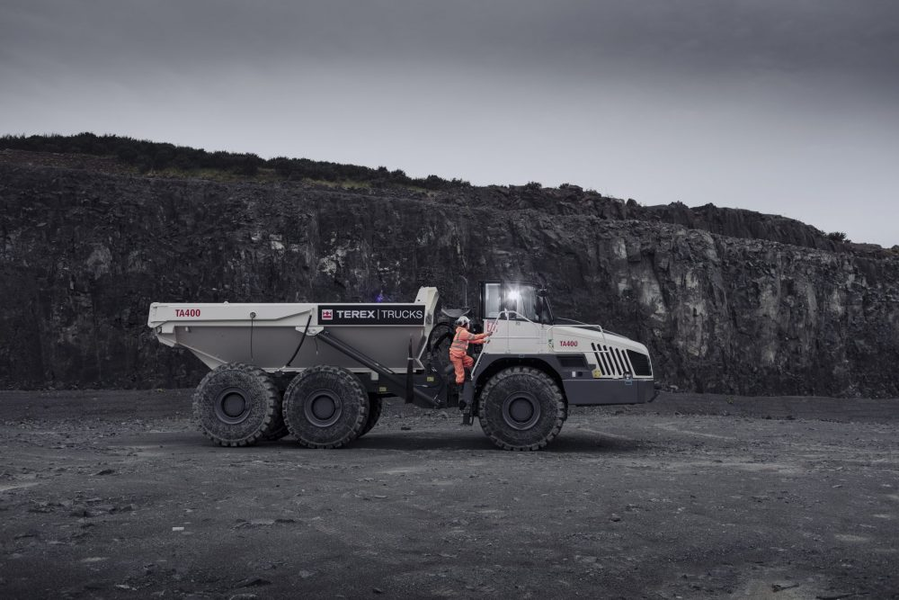 The TA400 is the largest articulated hauler on offer from Terex Trucks with a maximum payload of 38 tonnes.