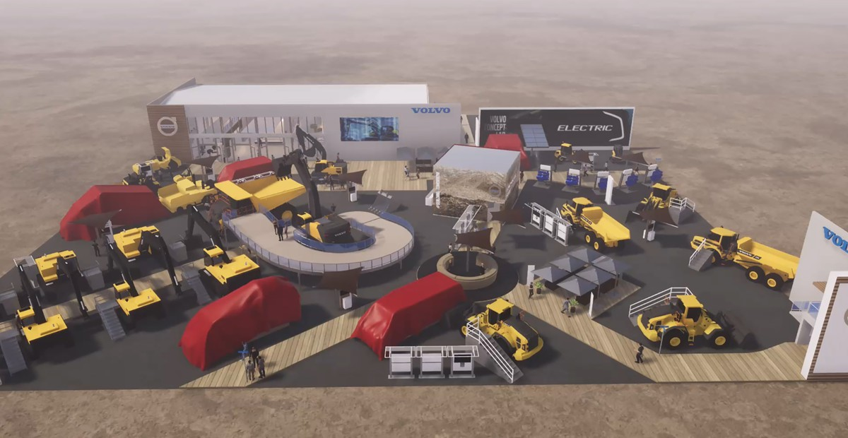 Volvo Construction Equipment showcasing ambitious future at ConExpo 2020