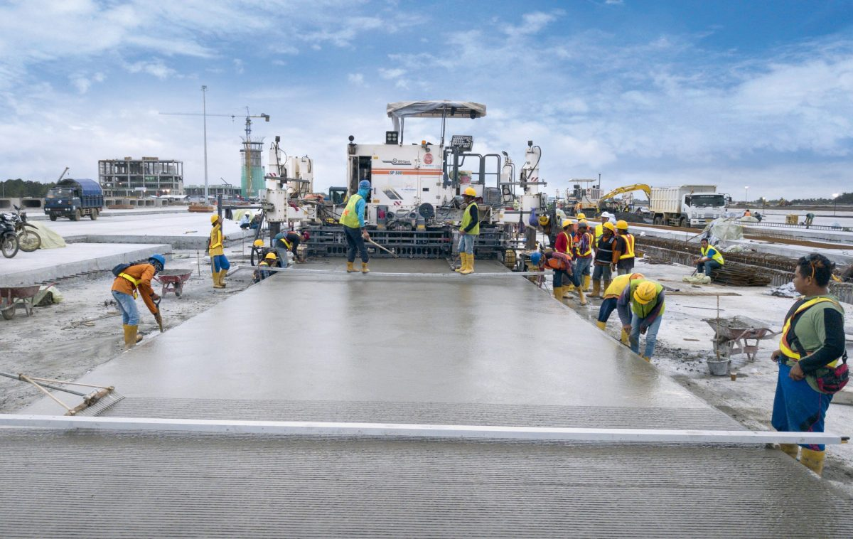 Wirtgen Slipform Pavers key to construction of Yogyakarta International Airport