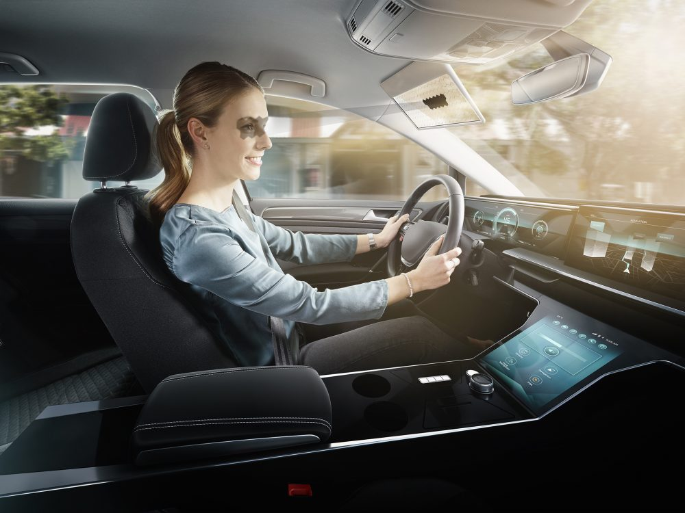 Bosch engineers invent Virtual Visor to improve driver safety and comfort