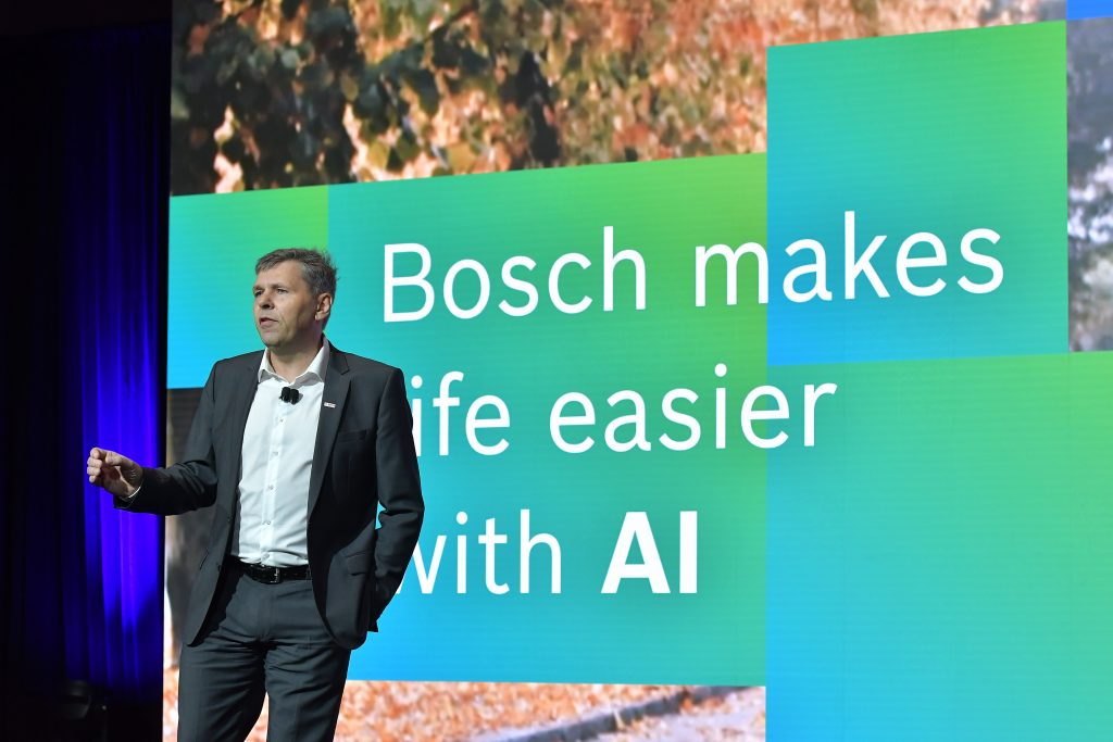 Bosch raises the artificial intelligence bar at CES2020