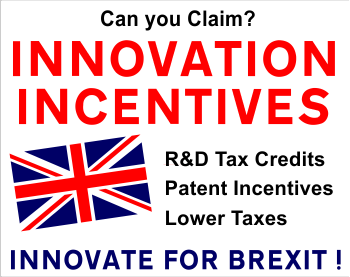 British Innovation Tax and Patent Credits