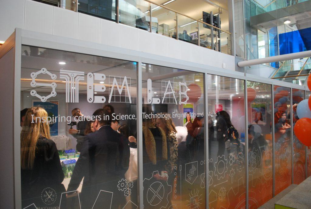 Network Rail's STEM lab opened at the Quadrant:MK
