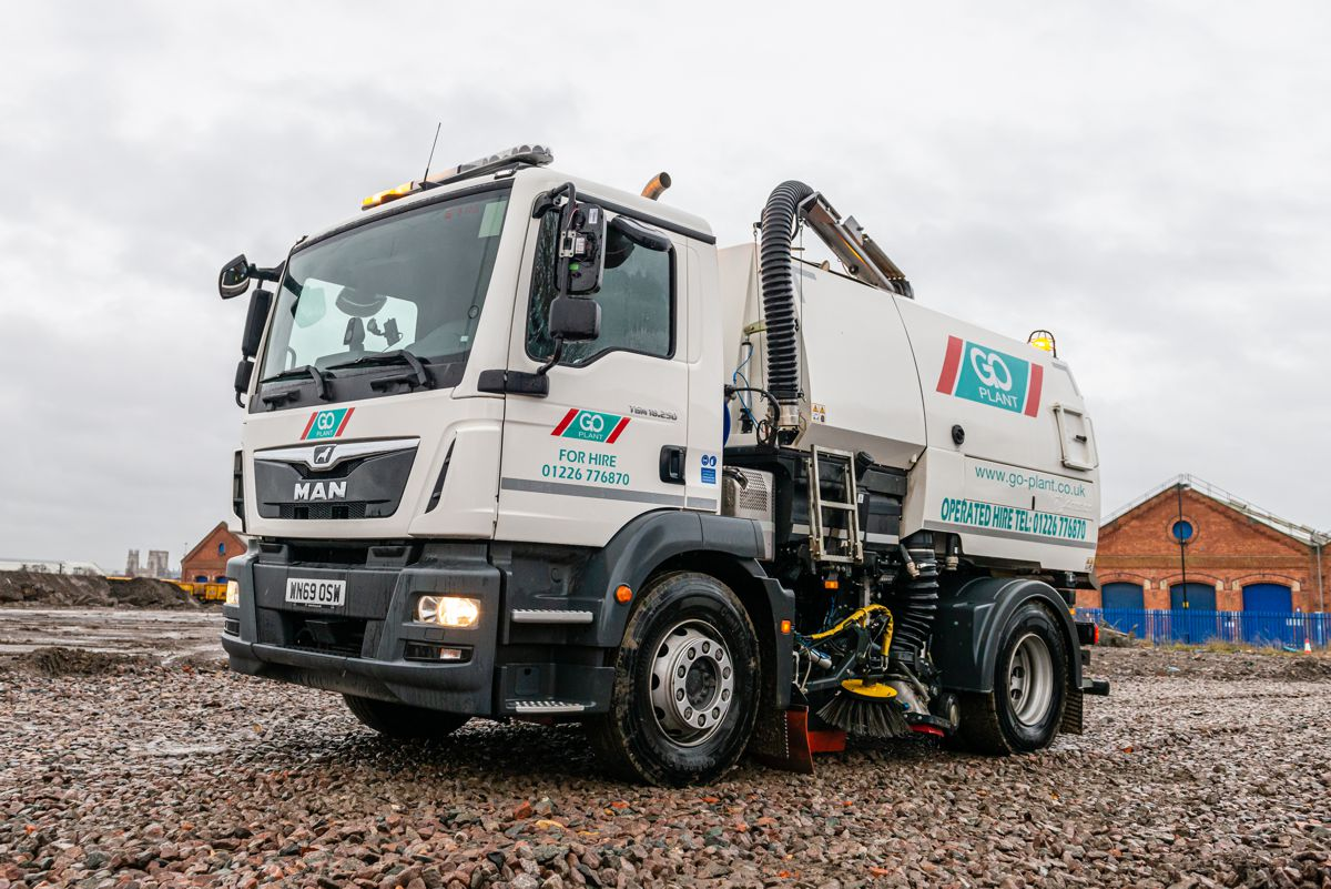 Go Plant Fleet Services cleaning up with new MAN TGM Sweeper