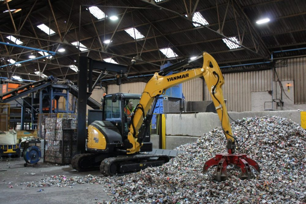 Yanmar crushing the competition with the SV60 midi excavator