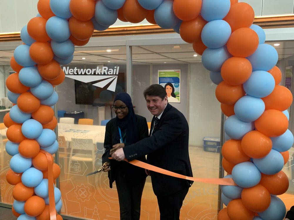The facility was opened by Stephen Metcalfe MP