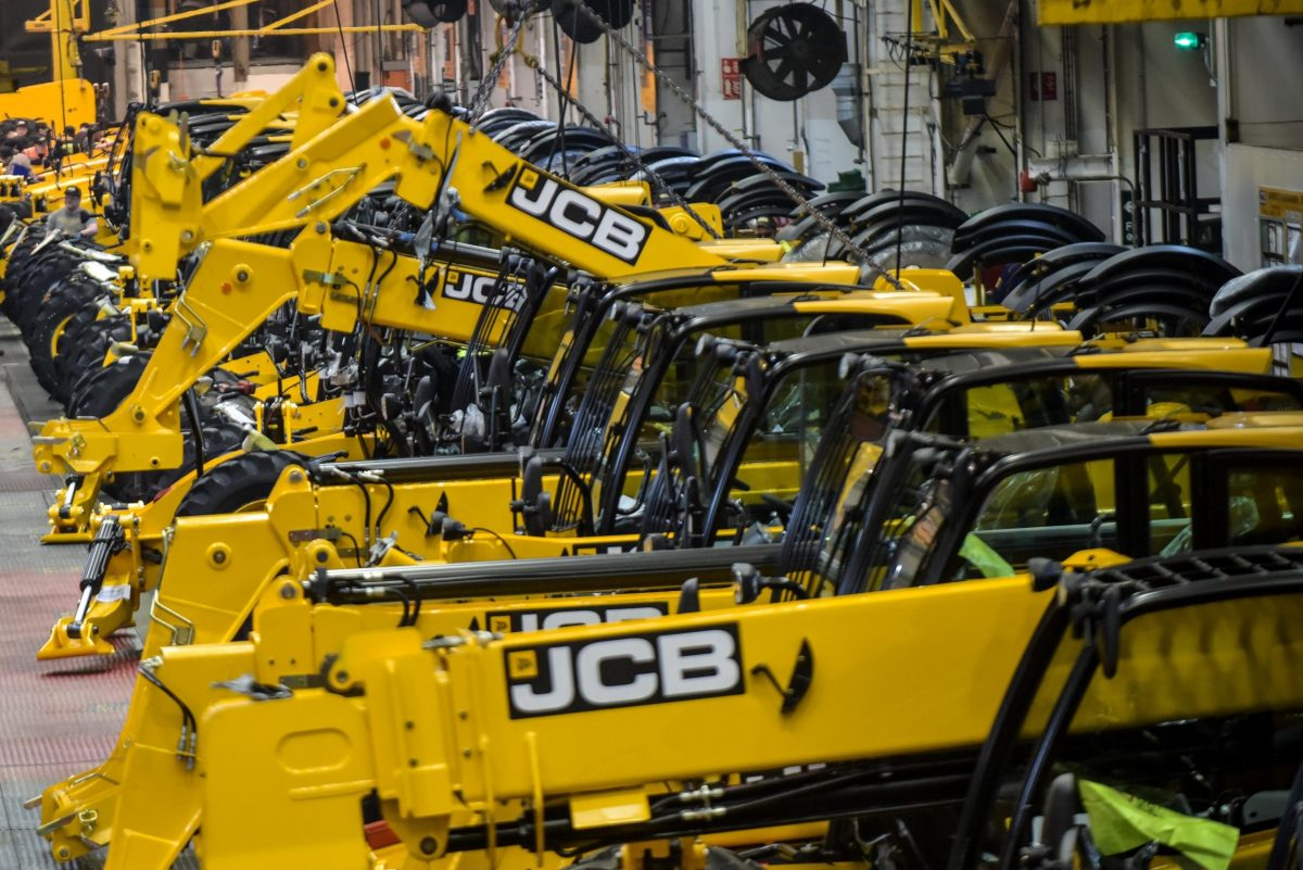 JCB set to scale back output due to Chinese supply chain impact