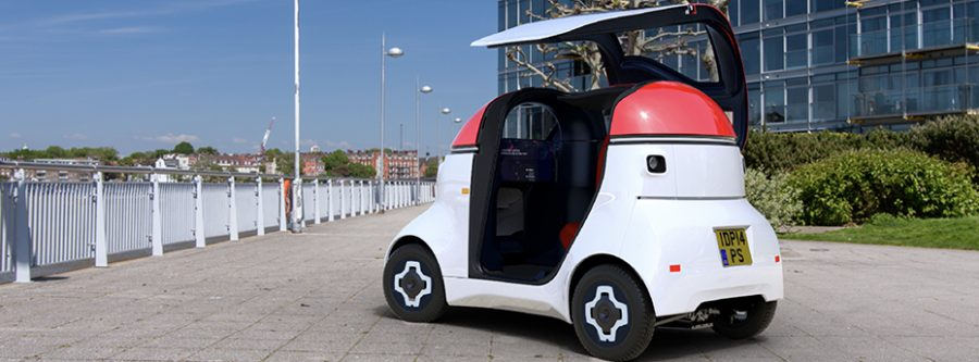 UK consortium launching autonomous mobility vehicle