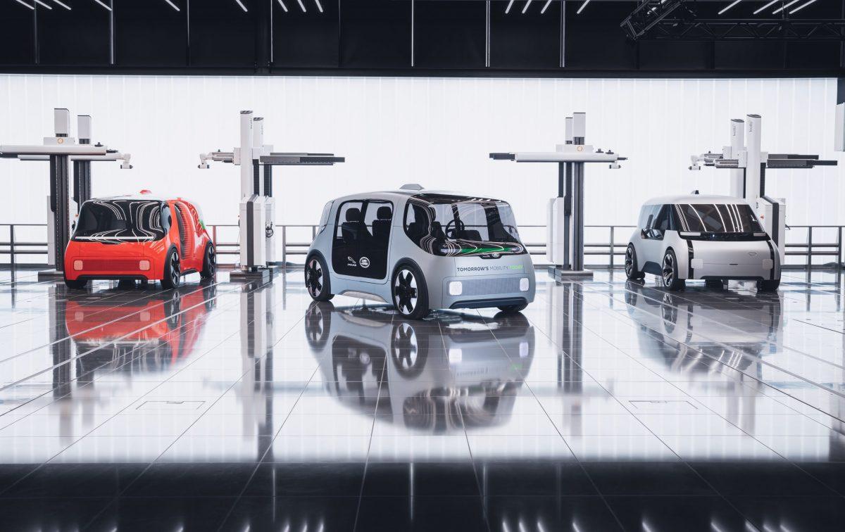 Jaguar Land Rover unveils Project Vector urban mobility concept