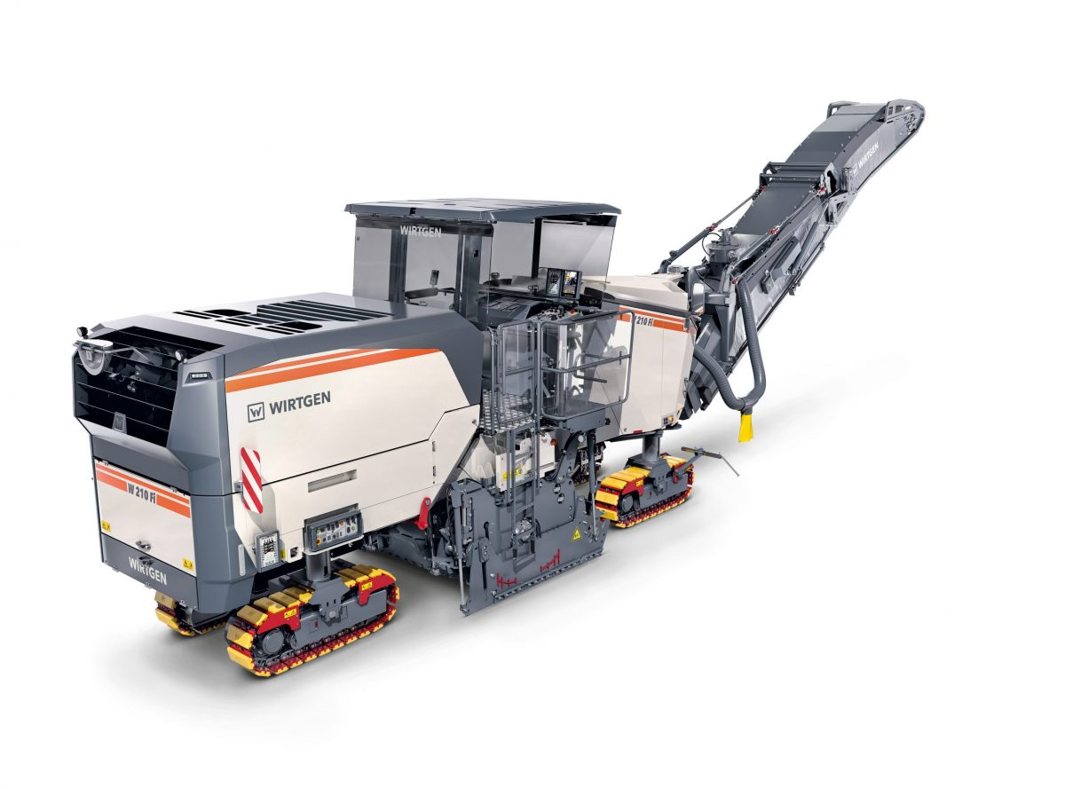 Wirtgen W 210 Fi Large Milling Machine wins iF Design Award 2020