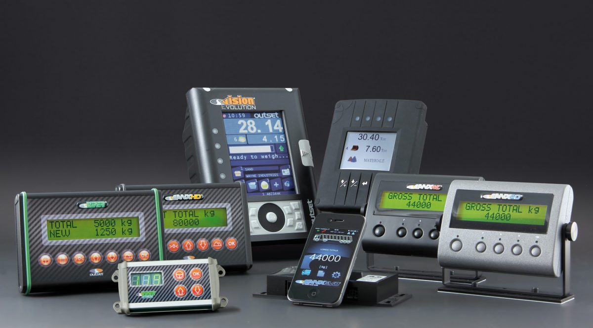 Outset set for Conexpo with on-board weighing and tyre-pressure monitoring systems
