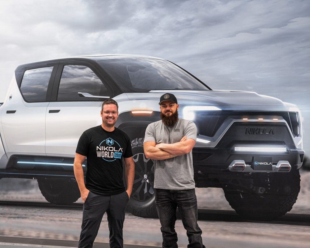 Nikola unveils the electric Badger Pickup with an estimated 600 Mile Range