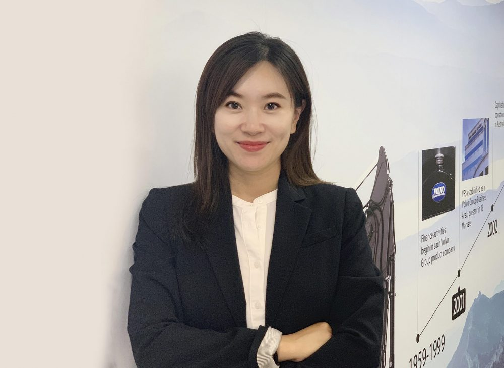 Andrea Jiang, Head of Business Development and Marketing for Volvo Financial Services.