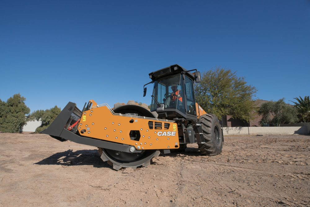 CASE unveils all new E Series single-drum Vibratory Rollers