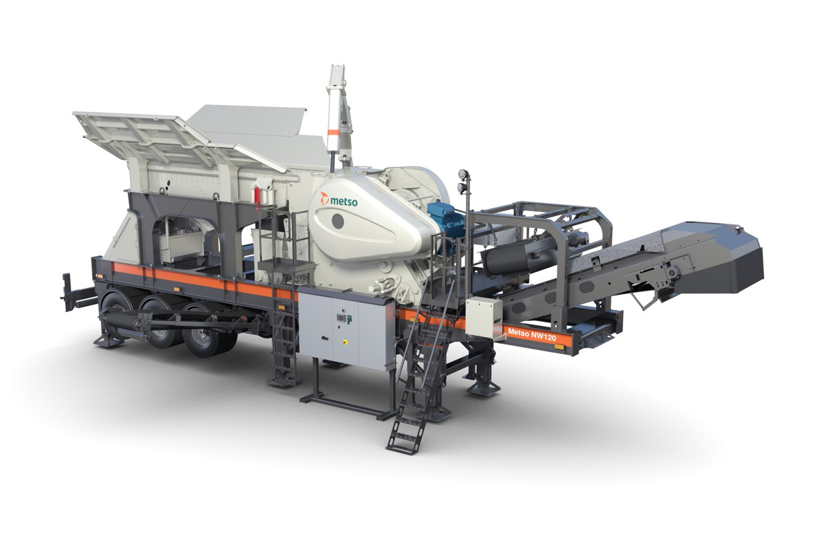 Metso launched NW Rapid crusher range for the North American market at CONEXPO