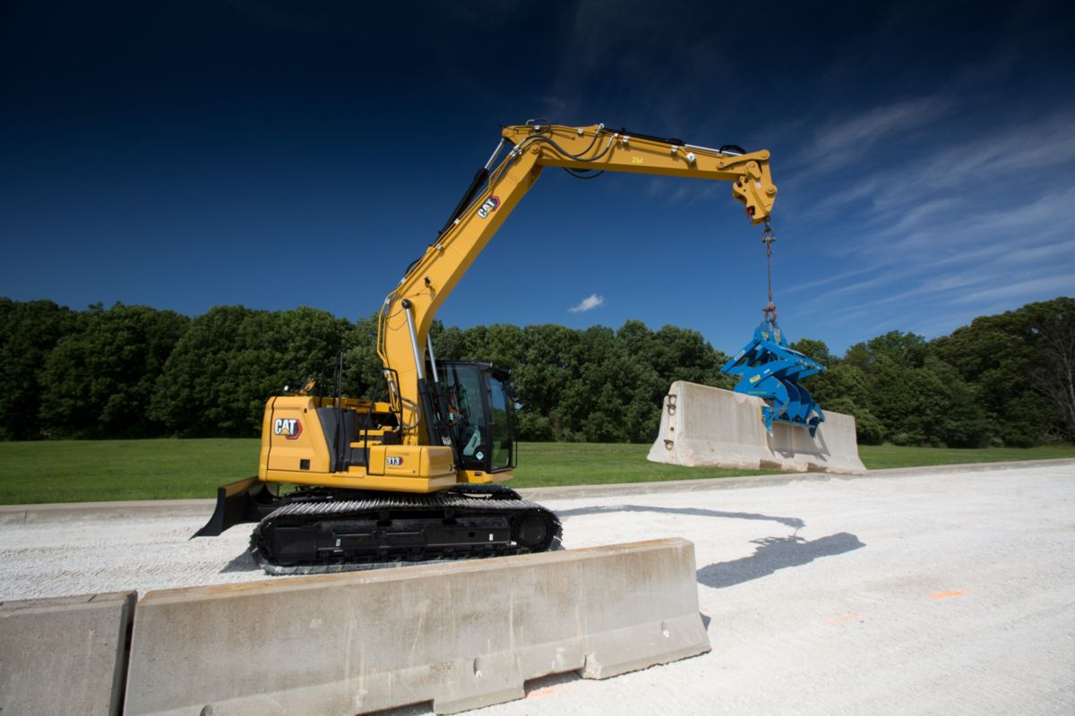 Cat 313 and 313 GC next generation Excavator deliver on performance and efficiency