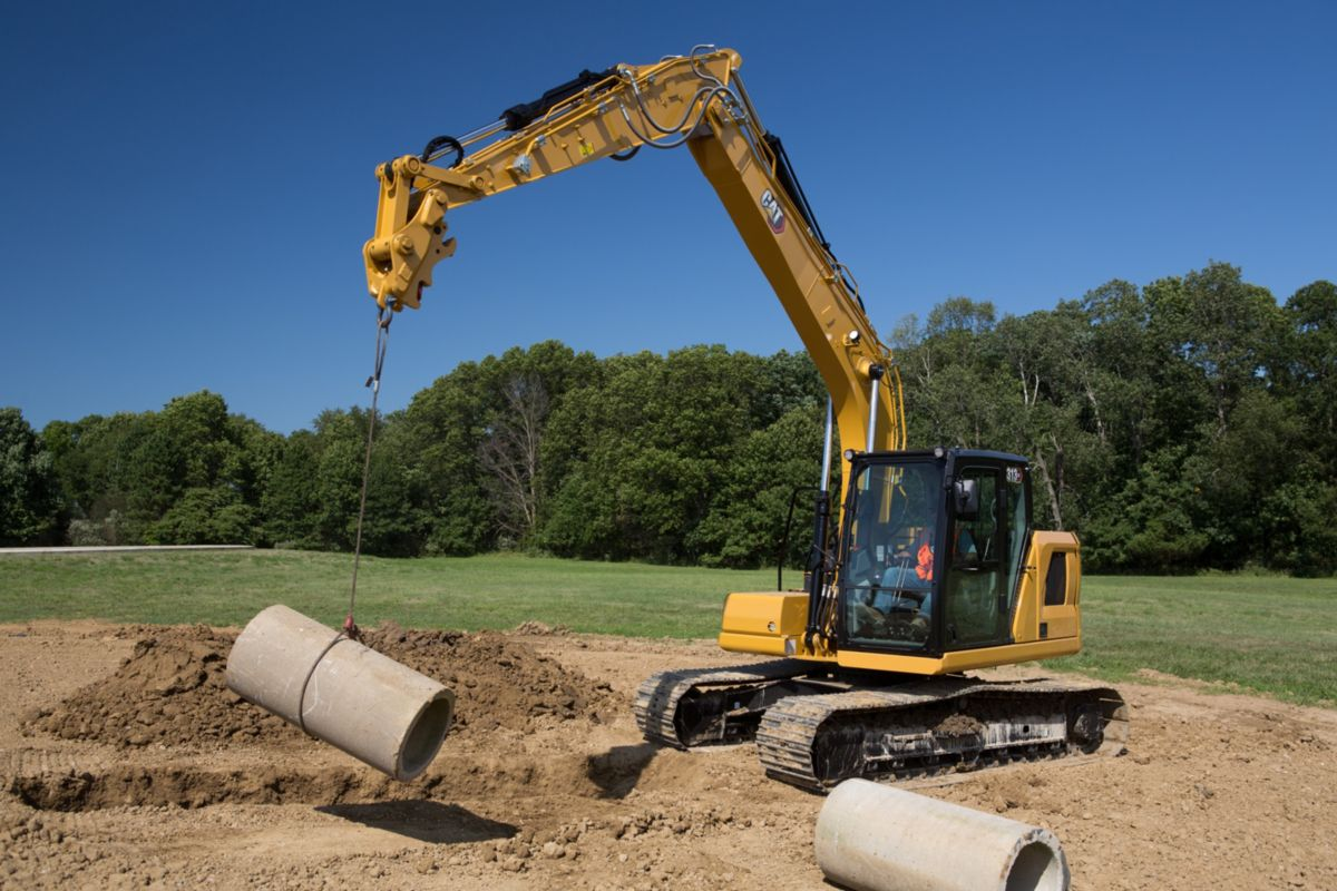 Cat 313 and 313 GC next generation Excavators deliver on performance and efficiency