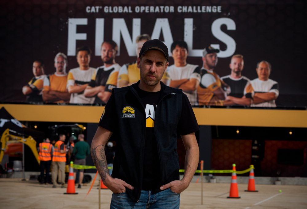 Jaus Neigum crowned Caterpillar Global Operator Challenge Champion at ConExpo 2020