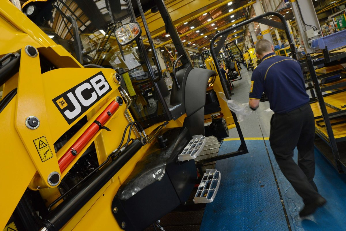 JCB halts production as Coronavirus impact impacts global demand