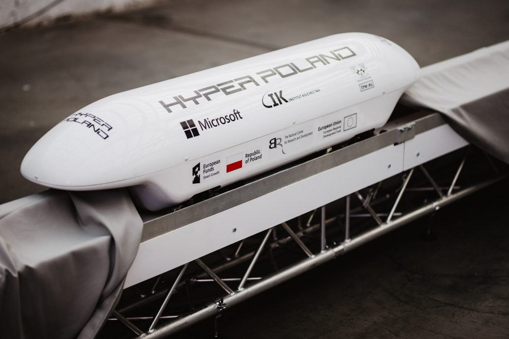 Hyper Poland smashes funding goal in 10 days to demonstrate prototype Magrail system