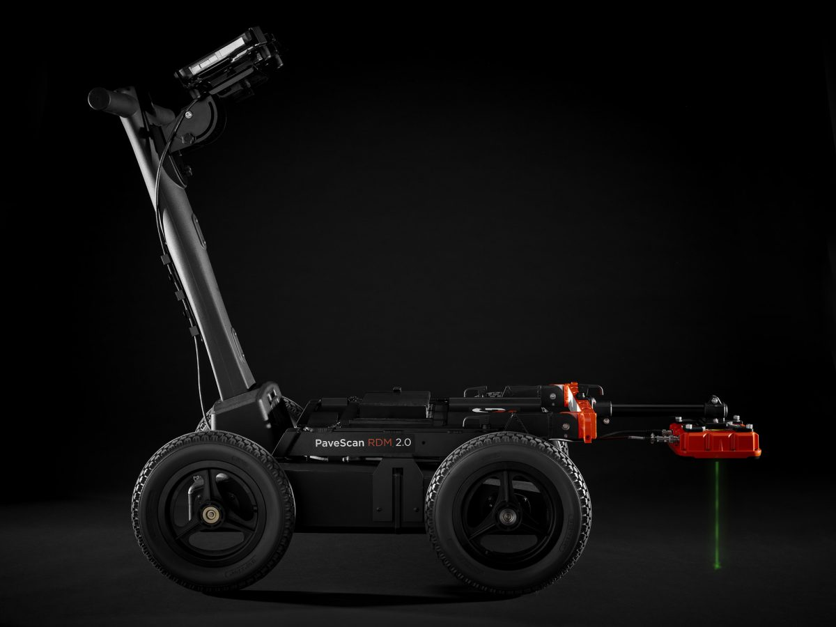 GSSI showcasing their industry leading GPR systems at ConExpo 2020