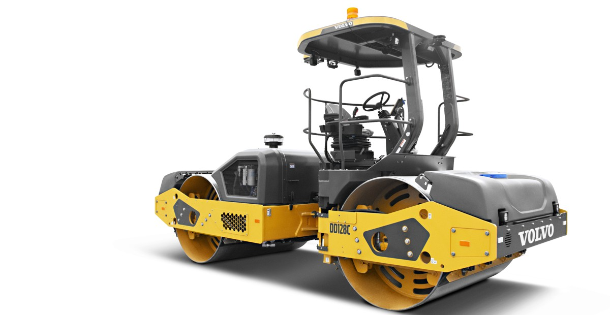 VolvoCE introduces DD128C Compactor with industry-leading 4,800 VPM