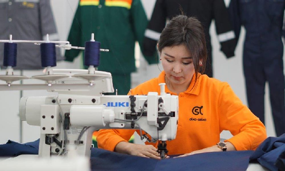 Workwear manufacturer in the Kyrgyz Republic helping to fight coronavirus pandemic