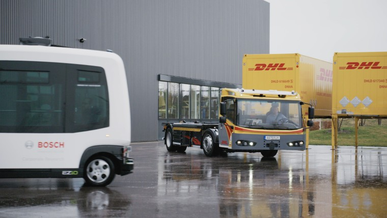 Bosch staying on track with driverless shuttles and Project 3F
