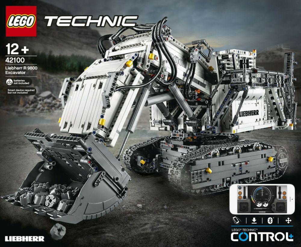 Win a LEGO 42100 Technic Control+ Liebherr R 9800 Excavator
