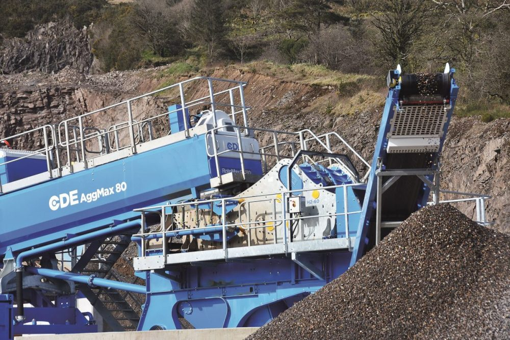 Campbell Contracts in Northern Ireland doubles material wet processing with CDE