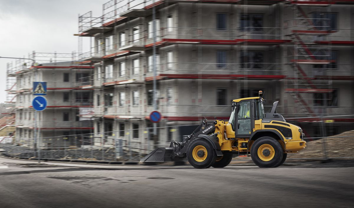 Volvo L45H and L50H loaders now available with high-speed driveline