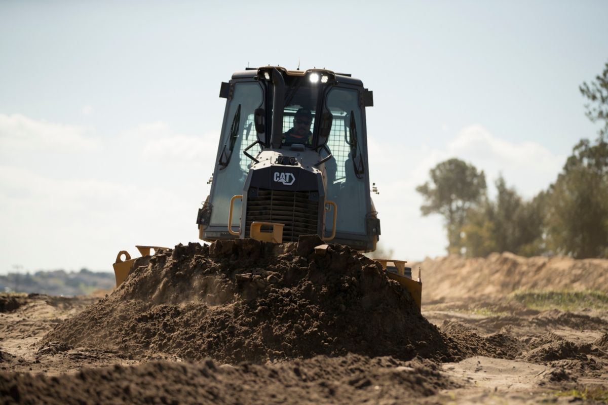 Caterpillar's new small dozers deliver better visibility, grade control and fuel economy