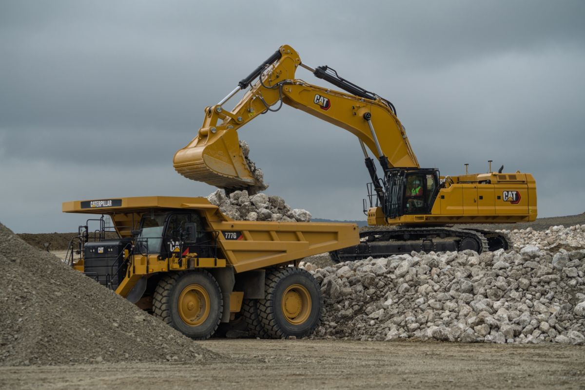 Cat next generation 395 Excavator delivers on production and durability