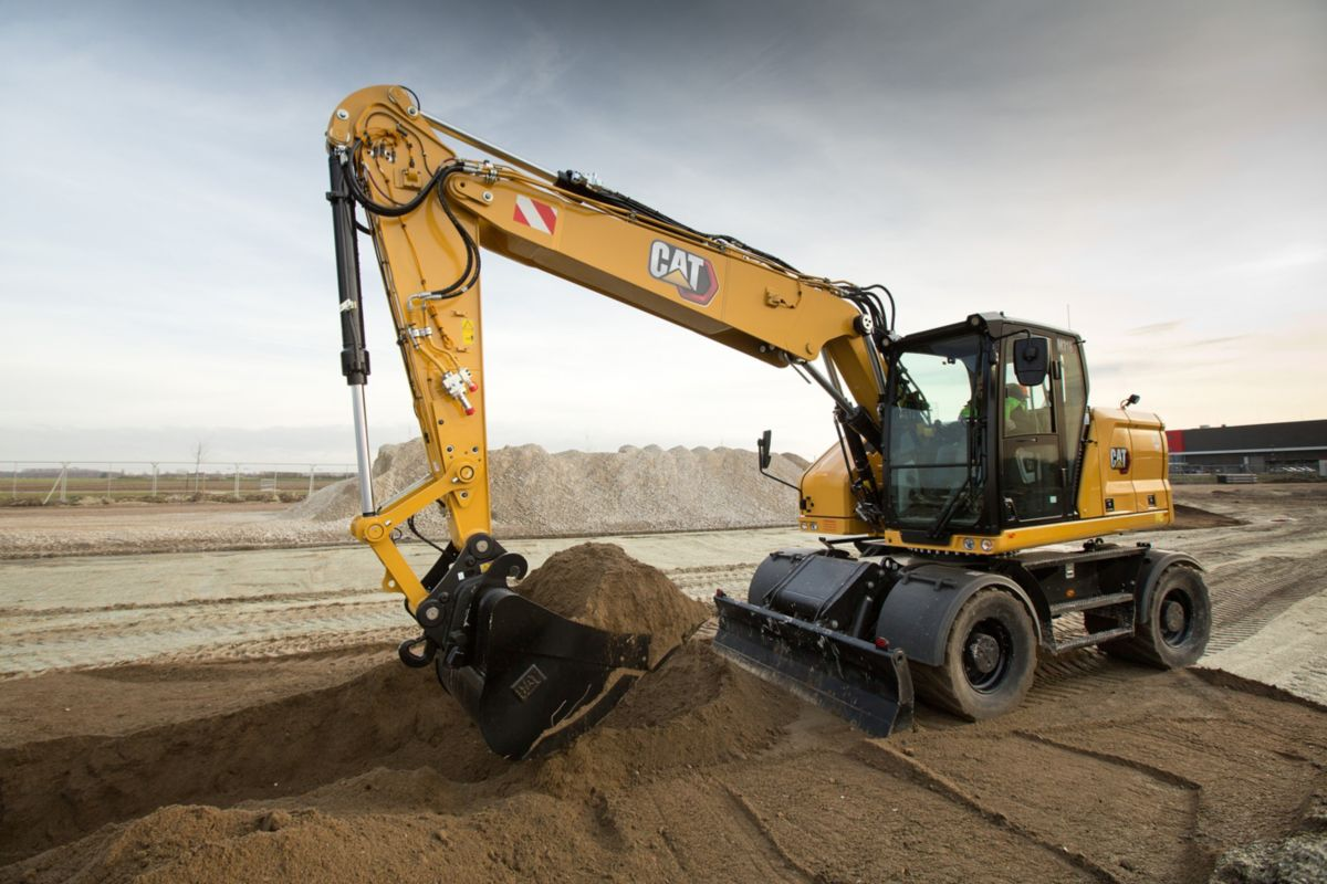 Caterpillar introduces the M314 and M318 next-generation Wheeled Excavators