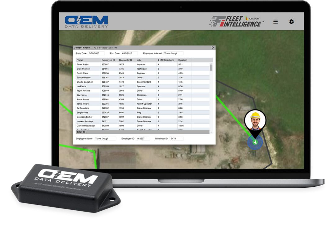 Foresight Intelligence and OEM Data Delivery launch CrewStrong contact tracing tool
