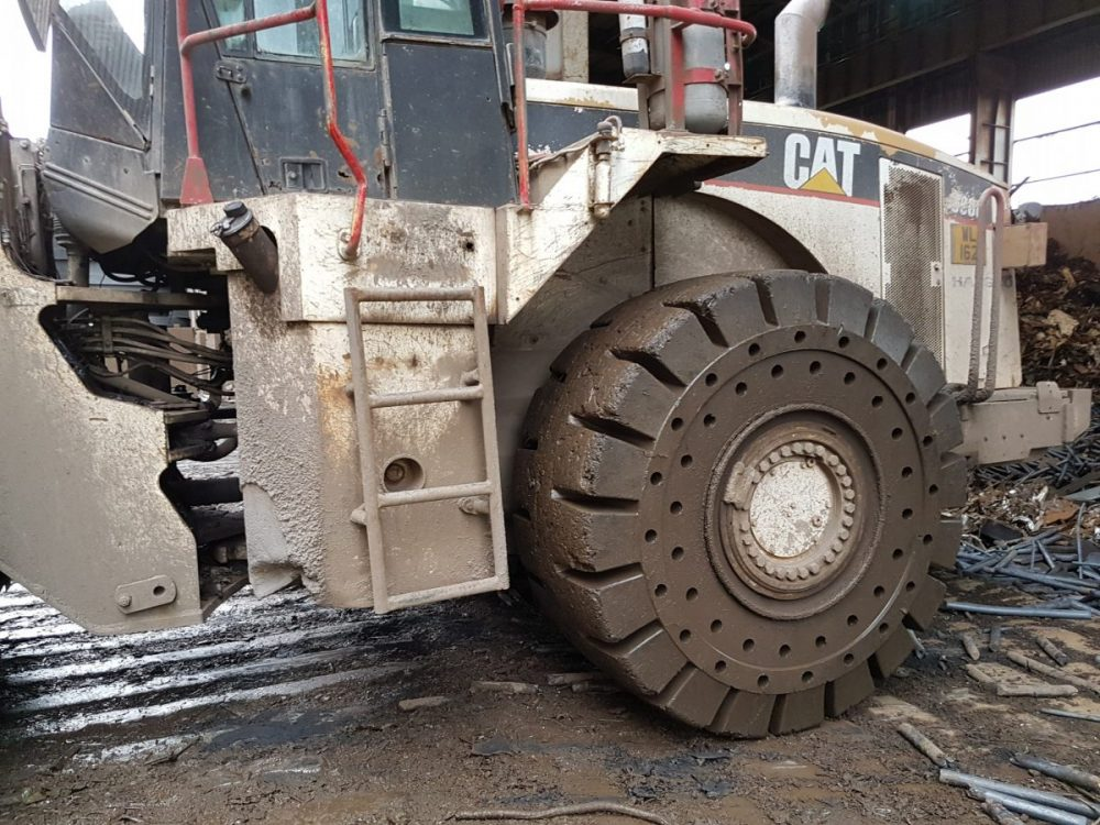 TY Cushion Tyres outperform all expectations at Harsco scrap yards