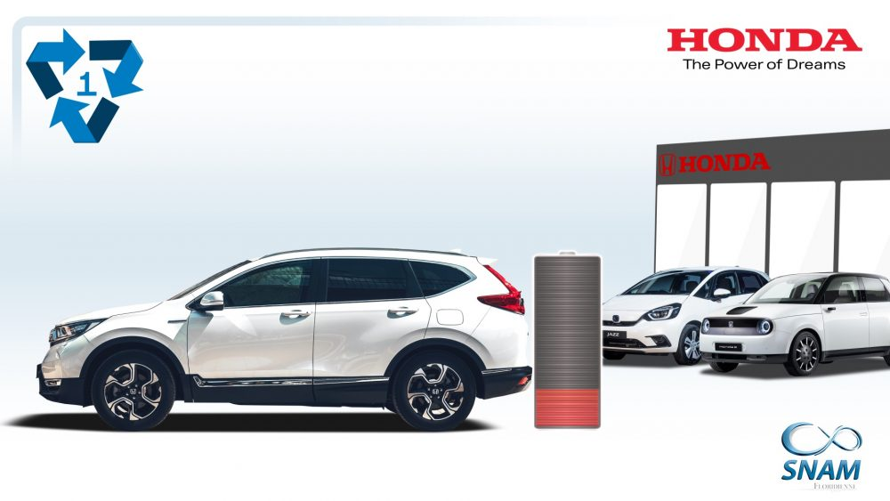 Honda hybrid and EV batteries feature in new recycling initiative