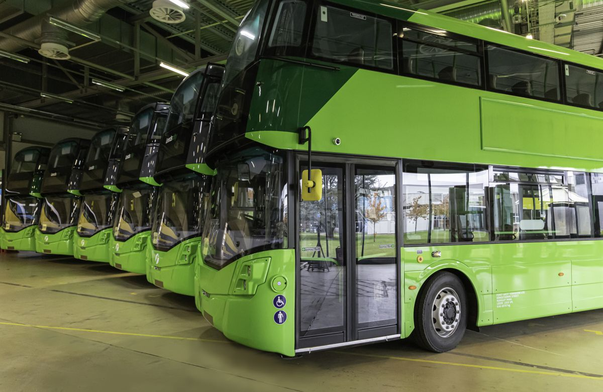 Vision announced to bring 3,000 hydrogen buses to the streets of Britain