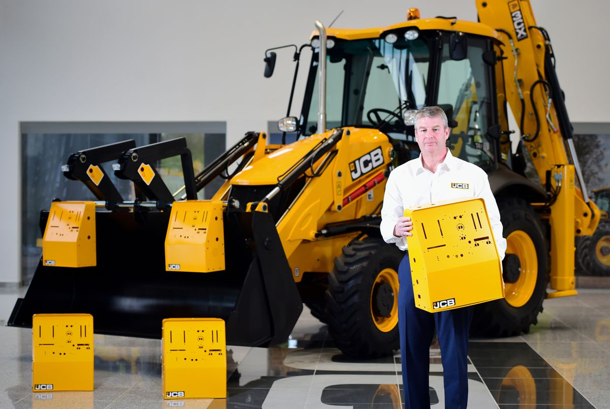 JCB re-starts production at their factory to manufacture ventilators for the NHS