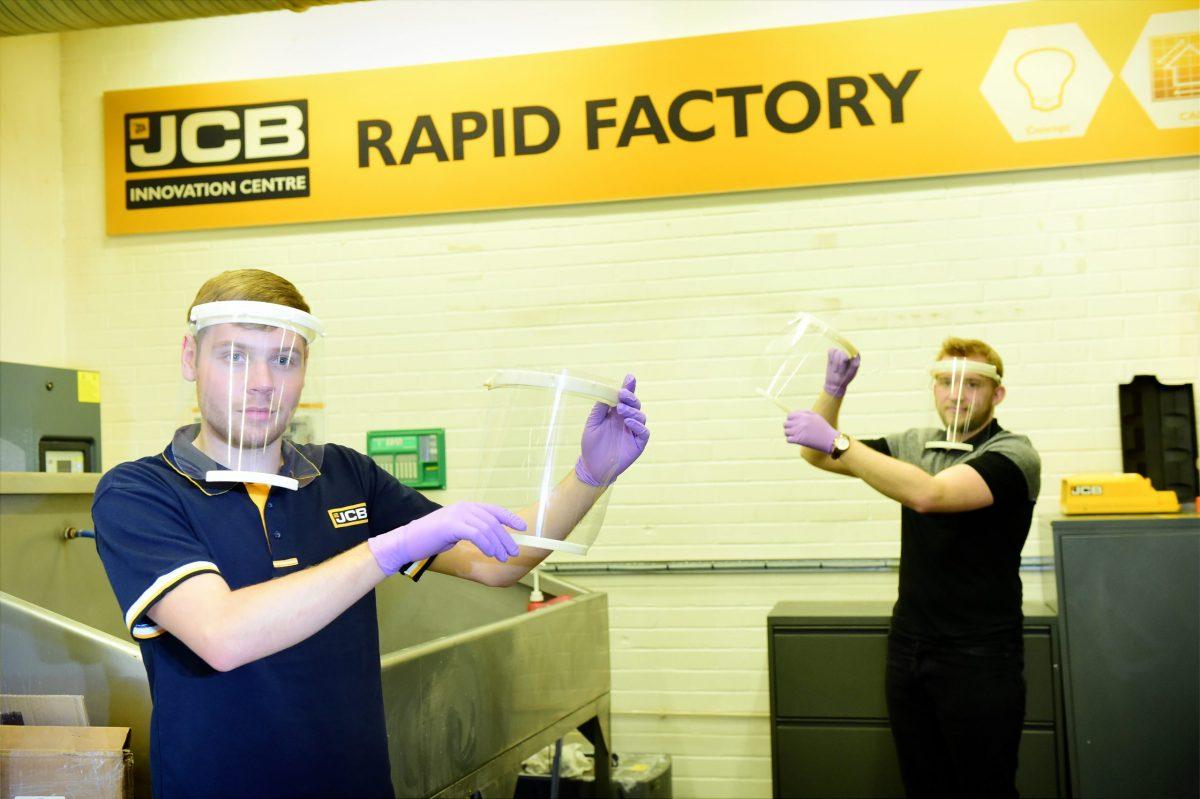 JCB Joe responds to Coronavirus loss with PPE manufacturing initiative