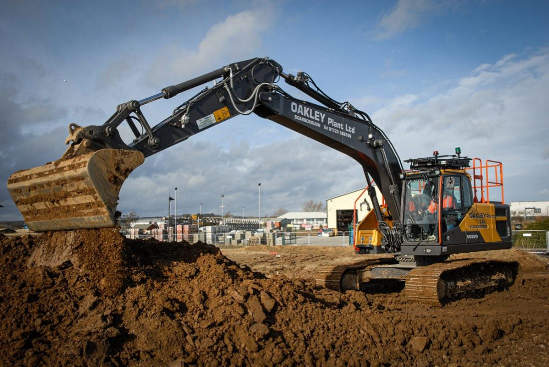 Oakley Plant hails new Volvo Excavator the right package and an even better product