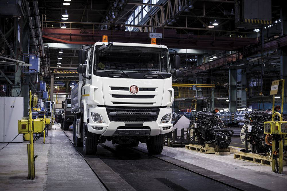 Tatra Trucks keeps production going during pandemic