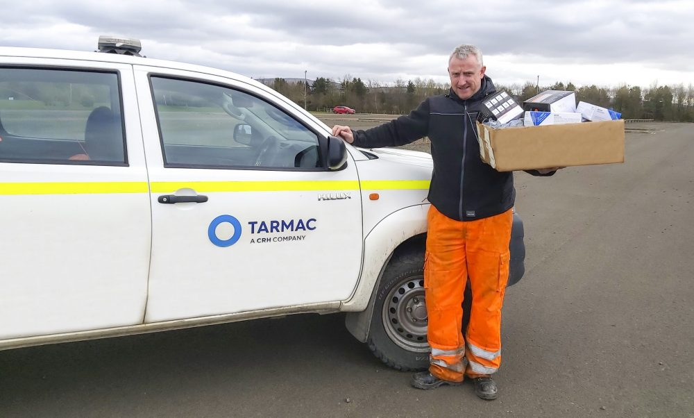 Tarmac is supporting the NHS with a national PPE donation campaign